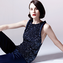 A Perfect Accent: Michelle Dockery | InStyle